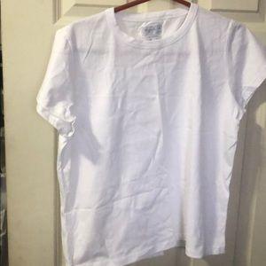 Agnes B women's white T shirt